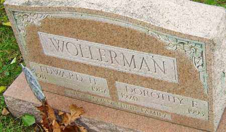WOLLERMAN, EDWARD - Franklin County, Ohio | EDWARD WOLLERMAN - Ohio Gravestone Photos