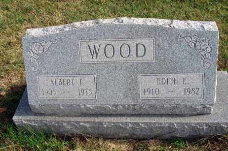 WOOD, EDITH E. - Franklin County, Ohio | EDITH E. WOOD - Ohio Gravestone Photos
