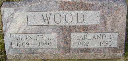 WOOD, BERNICE L - Franklin County, Ohio | BERNICE L WOOD - Ohio Gravestone Photos