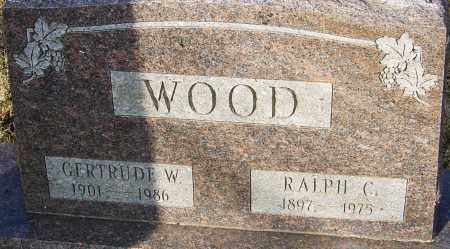 WOOD, RALPH C - Franklin County, Ohio | RALPH C WOOD - Ohio Gravestone Photos