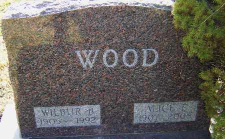 WOOD, WILBUR B - Franklin County, Ohio | WILBUR B WOOD - Ohio Gravestone Photos