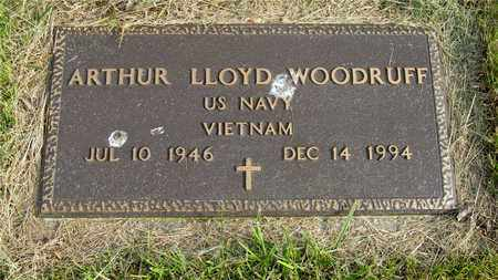 WOODRUFF, ARTHUR LLOYD - Franklin County, Ohio | ARTHUR LLOYD WOODRUFF - Ohio Gravestone Photos