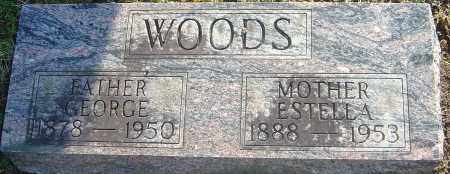 WOODS, GEORGE - Franklin County, Ohio | GEORGE WOODS - Ohio Gravestone Photos