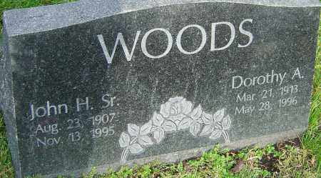 WOODS, JOHN - Franklin County, Ohio | JOHN WOODS - Ohio Gravestone Photos