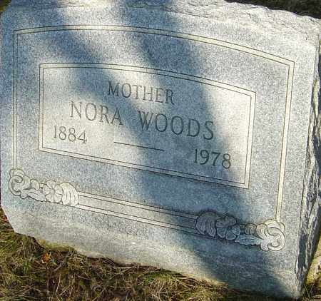 WOODS, NORA - Franklin County, Ohio | NORA WOODS - Ohio Gravestone Photos