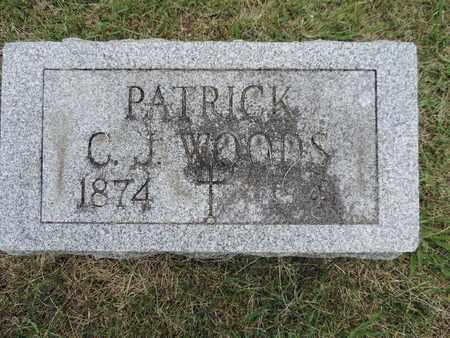 WOODS, PATRICK - Franklin County, Ohio   PATRICK WOODS - Ohio Gravestone Photos
