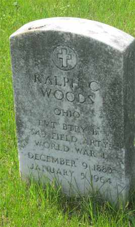 WOODS, RALPH C. - Franklin County, Ohio | RALPH C. WOODS - Ohio Gravestone Photos
