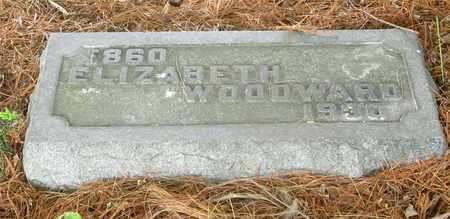WOODWARD, ELIZABETH - Franklin County, Ohio | ELIZABETH WOODWARD - Ohio Gravestone Photos