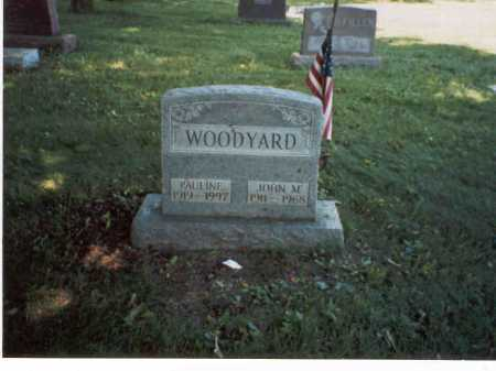 WOODYARD, PAULINE - Franklin County, Ohio | PAULINE WOODYARD - Ohio Gravestone Photos