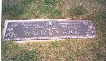 WOODYARD, BLANCHE M. - Franklin County, Ohio | BLANCHE M. WOODYARD - Ohio Gravestone Photos
