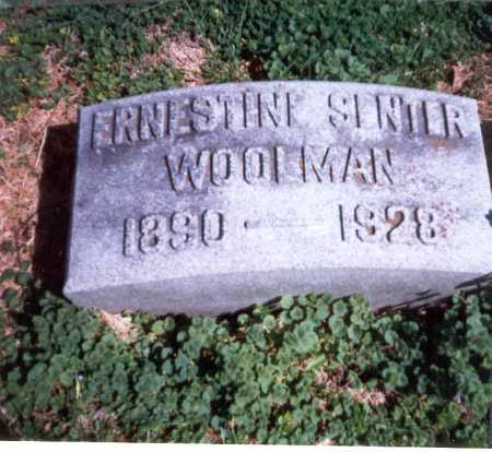 WOOLMAN, ERNESTINE - Franklin County, Ohio | ERNESTINE WOOLMAN - Ohio Gravestone Photos