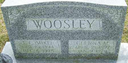 WOOSLEY, GLENNA M - Franklin County, Ohio | GLENNA M WOOSLEY - Ohio Gravestone Photos