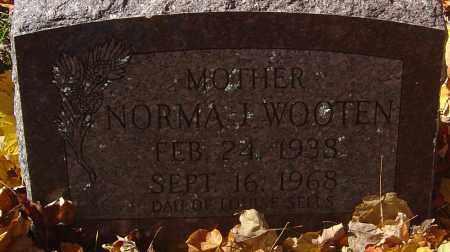 WOOTEN, NORMA J - Franklin County, Ohio | NORMA J WOOTEN - Ohio Gravestone Photos