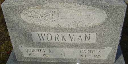 WORKMAN, DOROTHY N - Franklin County, Ohio | DOROTHY N WORKMAN - Ohio Gravestone Photos