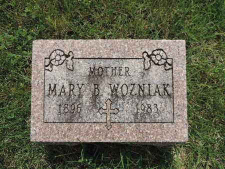 WOZNIAK, MARY B - Franklin County, Ohio | MARY B WOZNIAK - Ohio Gravestone Photos