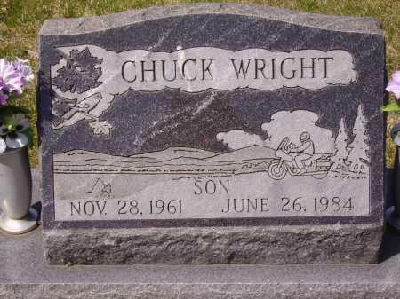 WRIGHT, CHUCK - Franklin County, Ohio   CHUCK WRIGHT - Ohio Gravestone Photos