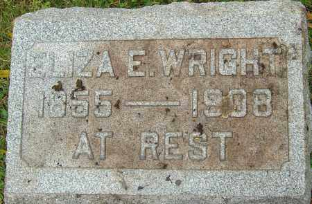 DOPP WRIGHT, ELIZA ELLEN - Franklin County, Ohio | ELIZA ELLEN DOPP WRIGHT - Ohio Gravestone Photos
