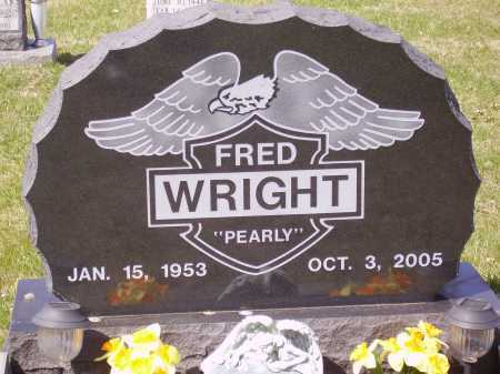 "WRIGHT, FRED ""PEARLY"" - Franklin County, Ohio 