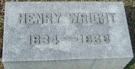 WRIGHT, HENRY - Franklin County, Ohio | HENRY WRIGHT - Ohio Gravestone Photos