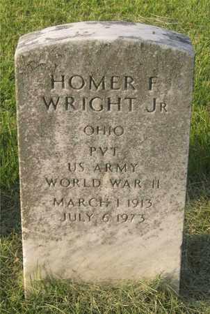 WRIGHT, HOMER F. - Franklin County, Ohio | HOMER F. WRIGHT - Ohio Gravestone Photos