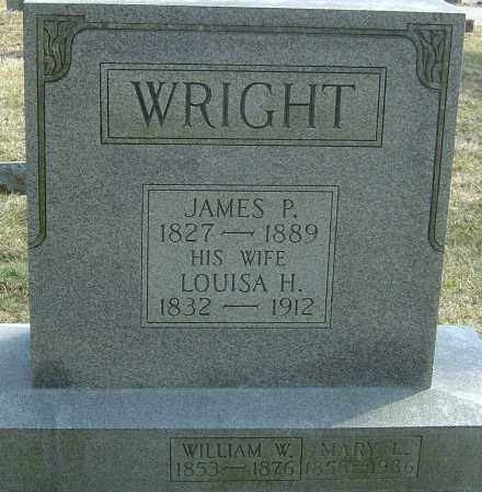 HEATH WRIGHT, LOUISA - Franklin County, Ohio | LOUISA HEATH WRIGHT - Ohio Gravestone Photos