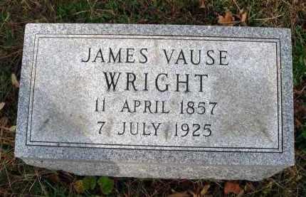 WRIGHT, JAMES VAUSE - Franklin County, Ohio | JAMES VAUSE WRIGHT - Ohio Gravestone Photos