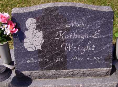 WRIGHT, KATHRYN E. - Franklin County, Ohio | KATHRYN E. WRIGHT - Ohio Gravestone Photos