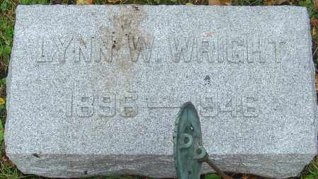 WRIGHT, LYNN WEBB - Franklin County, Ohio | LYNN WEBB WRIGHT - Ohio Gravestone Photos
