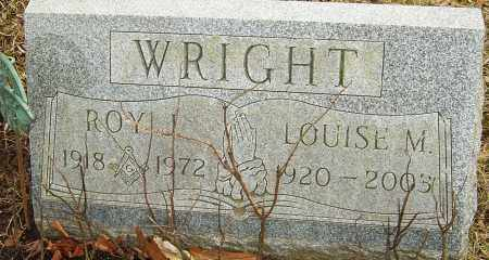 WRIGHT, ROY J - Franklin County, Ohio | ROY J WRIGHT - Ohio Gravestone Photos