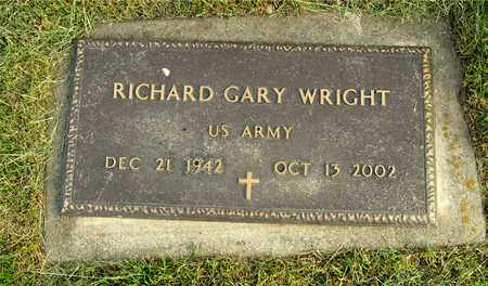 WRIGHT, RICHARD GARY - Franklin County, Ohio | RICHARD GARY WRIGHT - Ohio Gravestone Photos
