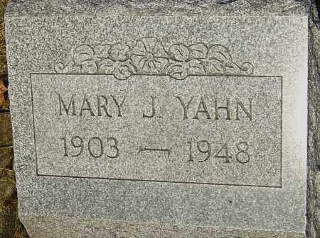 LEONARD YAHN, MARY - Franklin County, Ohio | MARY LEONARD YAHN - Ohio Gravestone Photos