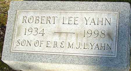 YAHN, ROBERT LEE - Franklin County, Ohio | ROBERT LEE YAHN - Ohio Gravestone Photos
