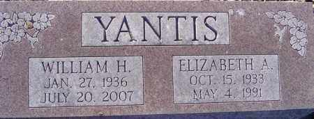 YANTIS, ELIZABETH A - Franklin County, Ohio | ELIZABETH A YANTIS - Ohio Gravestone Photos