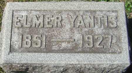 YANTIS, ELMER - Franklin County, Ohio | ELMER YANTIS - Ohio Gravestone Photos