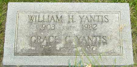 YANTIS, WILLIAM H - Franklin County, Ohio | WILLIAM H YANTIS - Ohio Gravestone Photos