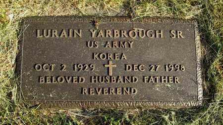 YARBROUGH, LURAIN - Franklin County, Ohio | LURAIN YARBROUGH - Ohio Gravestone Photos
