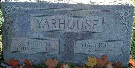 YARHOUSE, MAURICE H - Franklin County, Ohio | MAURICE H YARHOUSE - Ohio Gravestone Photos