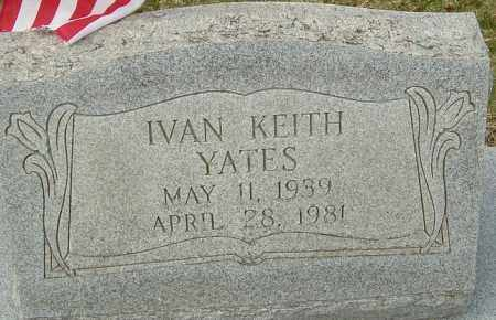 YATES, IVAN KEITH - Franklin County, Ohio   IVAN KEITH YATES - Ohio Gravestone Photos