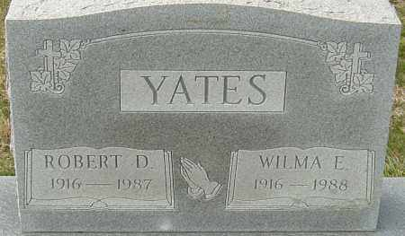 YATES, ROBERT DALE - Franklin County, Ohio | ROBERT DALE YATES - Ohio Gravestone Photos