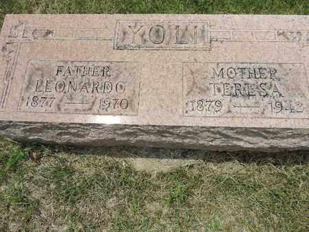 YOLI, TERESA - Franklin County, Ohio | TERESA YOLI - Ohio Gravestone Photos