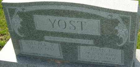 YOST, SUSAN E - Franklin County, Ohio | SUSAN E YOST - Ohio Gravestone Photos