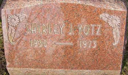 YOTZ, SHIRLEY J - Franklin County, Ohio | SHIRLEY J YOTZ - Ohio Gravestone Photos