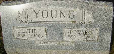 YOUNG, EDWARD - Franklin County, Ohio | EDWARD YOUNG - Ohio Gravestone Photos
