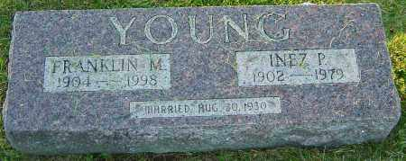 YOUNG, INEZ P - Franklin County, Ohio | INEZ P YOUNG - Ohio Gravestone Photos