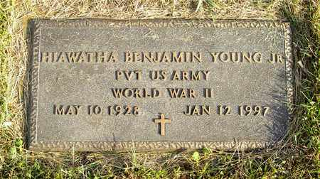 YOUNG, HIAWATHA BENJAMIN - Franklin County, Ohio | HIAWATHA BENJAMIN YOUNG - Ohio Gravestone Photos