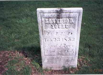 YOUNG, LORENZO D. - Franklin County, Ohio | LORENZO D. YOUNG - Ohio Gravestone Photos