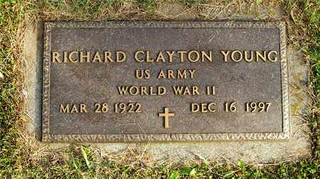YOUNG, RICHARD CLAYTON - Franklin County, Ohio | RICHARD CLAYTON YOUNG - Ohio Gravestone Photos