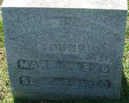 BRIDWELL YOUNG, SOPHIA - Franklin County, Ohio | SOPHIA BRIDWELL YOUNG - Ohio Gravestone Photos
