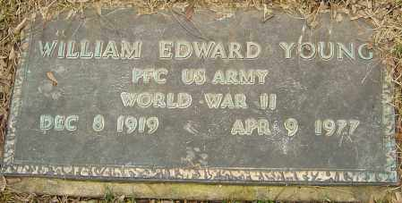 YOUNG, WILLIAM EDWARD - Franklin County, Ohio | WILLIAM EDWARD YOUNG - Ohio Gravestone Photos