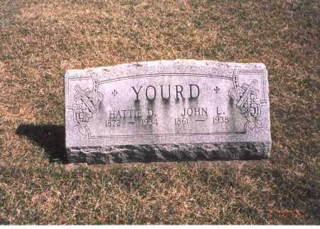 YOURD, JOHN L. - Franklin County, Ohio | JOHN L. YOURD - Ohio Gravestone Photos